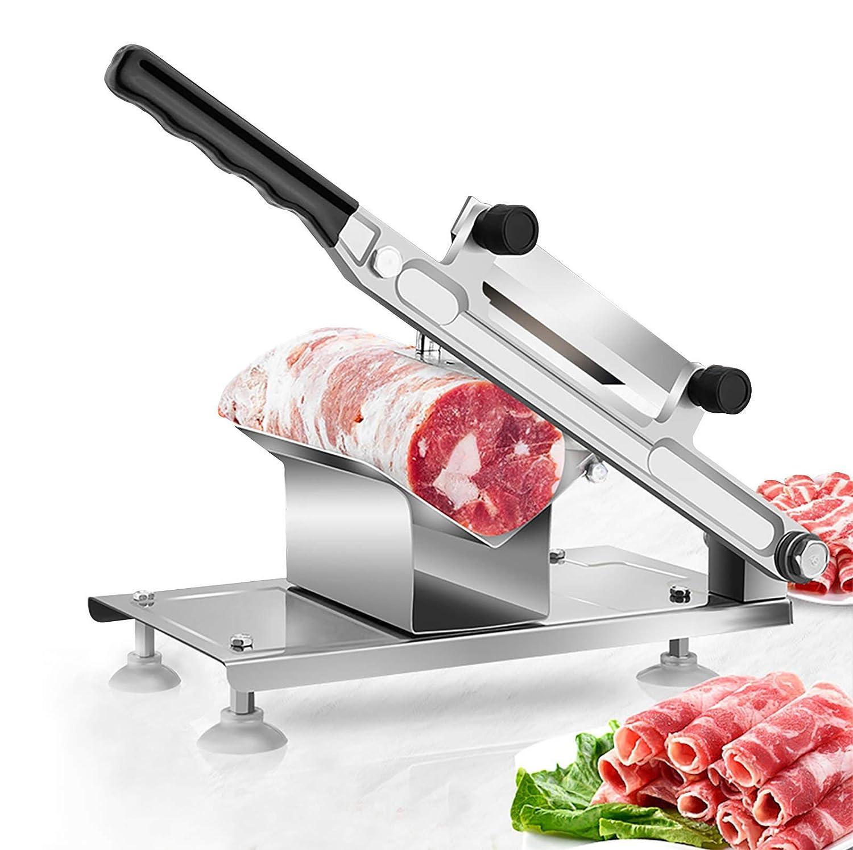 BAOSHISHAN trancheuse manuelle de viande congel/ée coupe-viande froide trancheuse de boeuf pour viande congel/ée fruits durs l/égumes