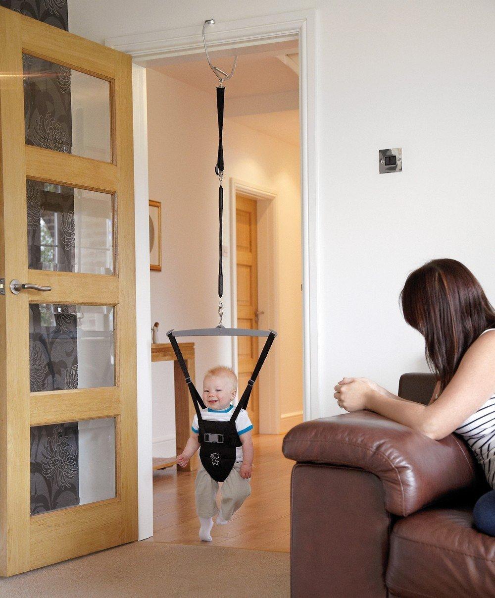 Tippitoes DB5 - Doorway Bouncer Türhopser, schwarz: Amazon.de: Baby