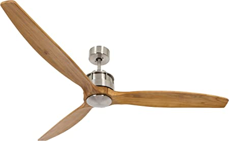 LUCCI AIR Airfusion Akmani DC ventilador, 36 W), color cromado ...