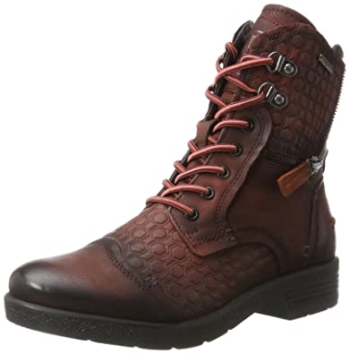 411321311015, Bottes Femme, Rouge (Dark Red/Dark Grey), 37 EUBugatti