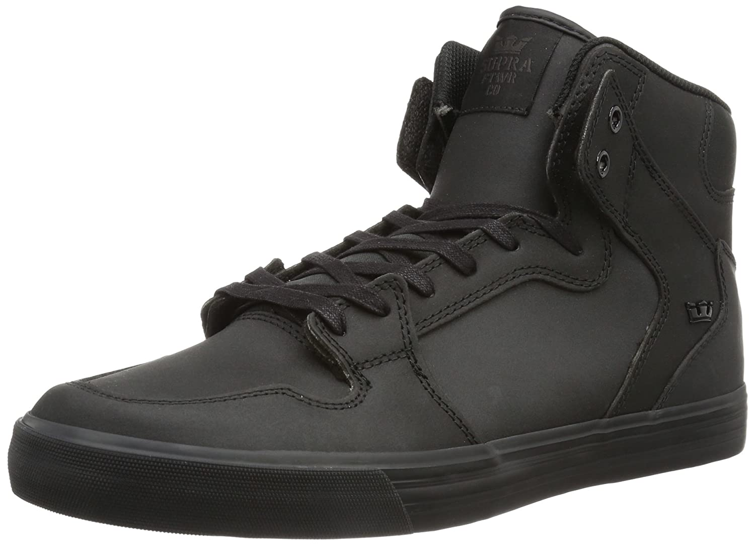 Supra Vaider LC Sneaker B008N0VQN4 Medium / 9.5 C/D US Women / 8 D(M) US Men|Black Satin Tuf