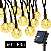 Guirnalda Luces Exterior Solare, BrizLabs 13.8M 60 LED