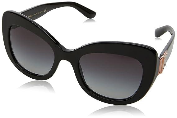 Dolce   Gabbana 0DG4308 501 8G 53, Montures de Lunettes Femme, Noir ... 06962d155bb3