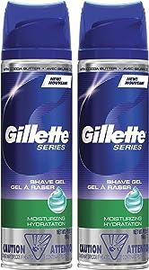 Gillette Series Ultra Moisturizing Shaving Gel - 7 oz - 2 pk