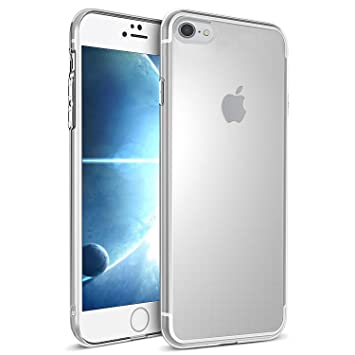 UBEGOOD Funda iPhone 7, Funda iPhone 8, iPhone 7/iPhone 8 Funda Carcasa Case Bumper [Shock-Absorción] [Anti-Arañazos] Slim Silicona Case Cover para ...