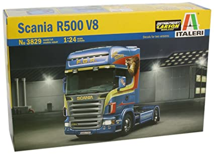 Amazon.com: # 3829 Kit de Italeri Scania R500 V8 – Maqueta 1 ...