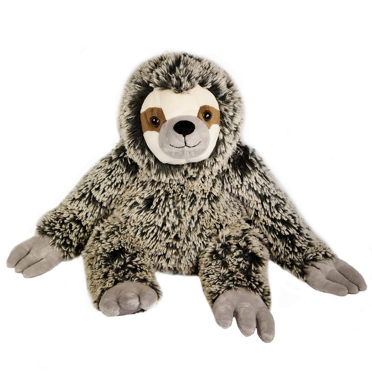 The Petting Zoo - 25'' Soft Frosted Brown Sloth - Stuffed Animal Toy - Great for Baby/Toddlers/Kids - Boys & Girls by The Petting Zoo