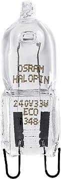 10 X Osram G9 Eco Halogen Pin-Base 230V 20W=25W Halogen Lamp Halopin