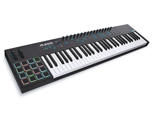 4 opinioni per Alesis VI61 Tastiera Controller Avanzata MIDI USB a 61 Tasti con 16 Pad, 16