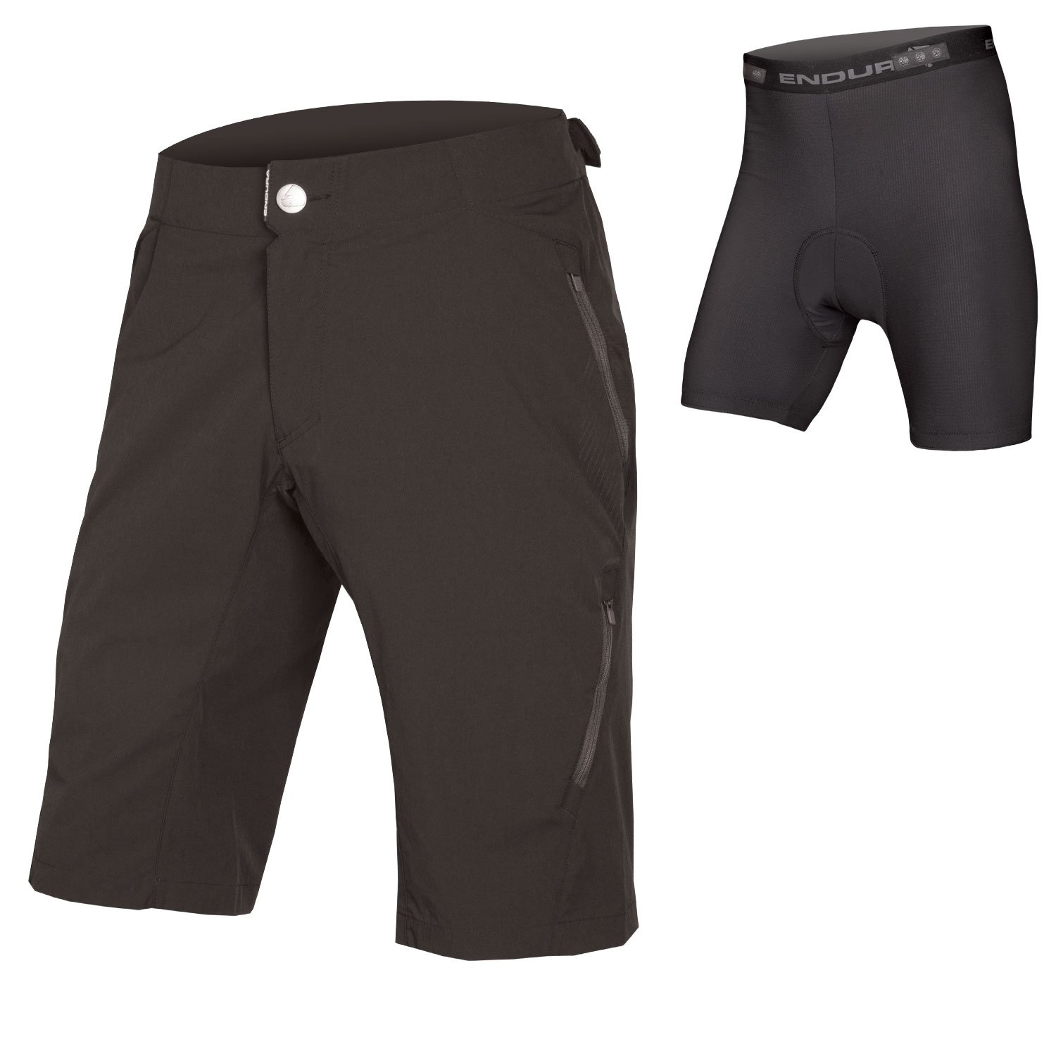Endura SingleTrack Lite Men's Baggy MTB Shorts II with Liner
