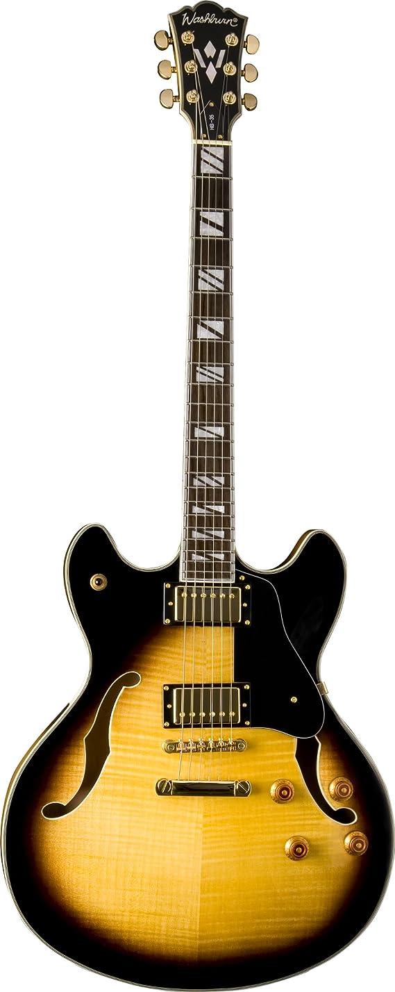 Washburn HB Series HB35TSK Hollow-Body Electric Guitar