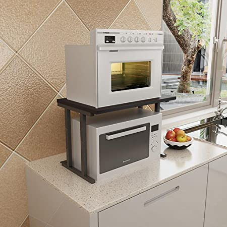 Shelf LYG Parrilla de Horno microondas, práctica Cocina de ...