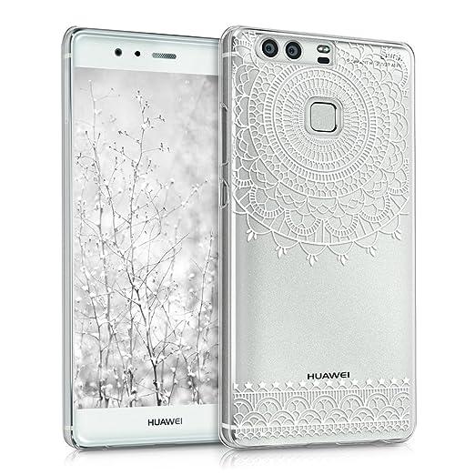 28 opinioni per kwmobile Cover per Huawei P9- Custodia trasparente per cellulare- Back cover