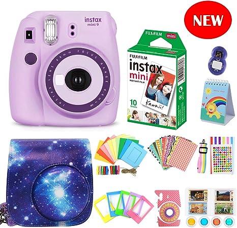 Fujifilm Instax Mini 9 Cámara de película + Fuji Instax Mini ...