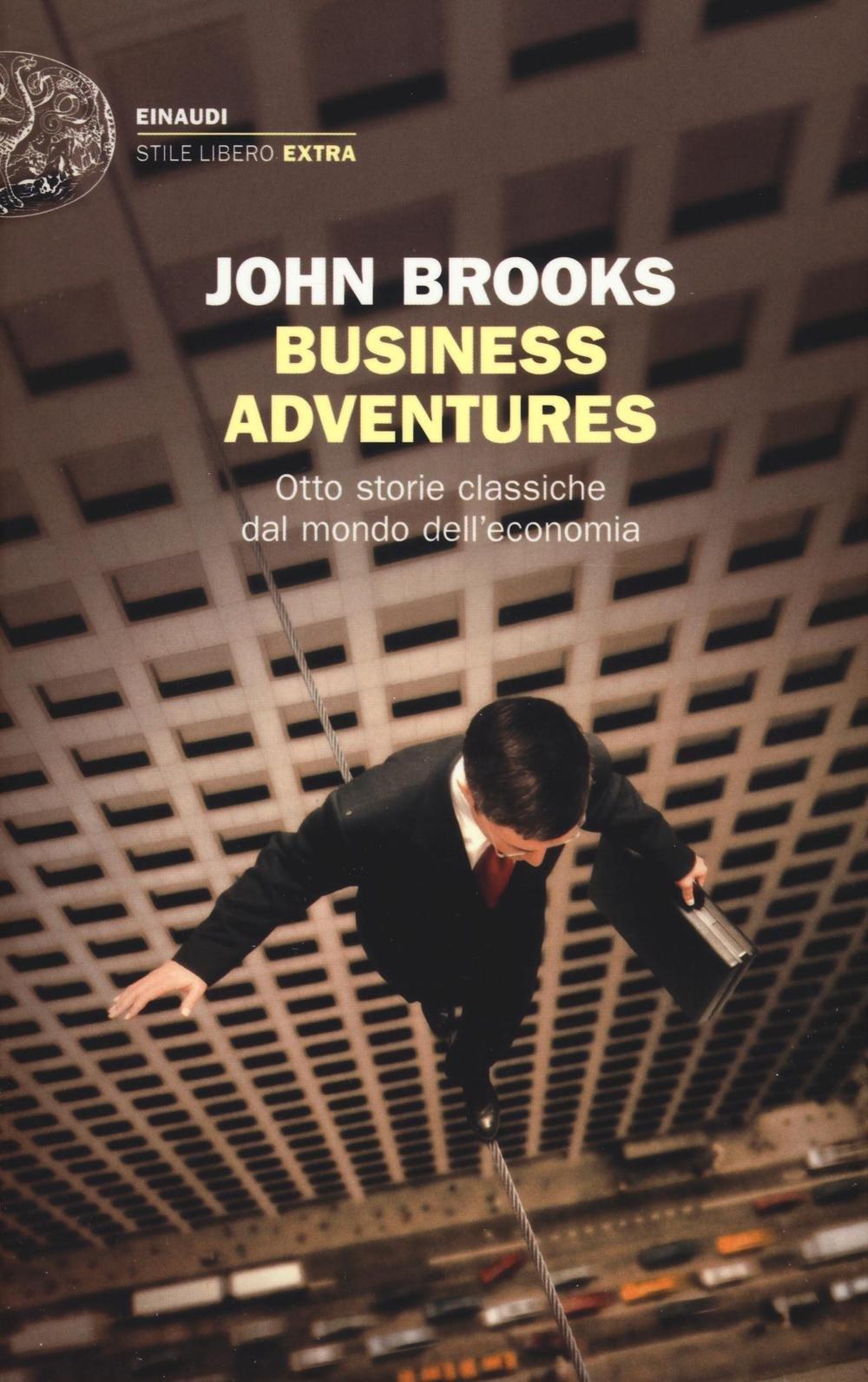 Copertina Libro Business adventures.