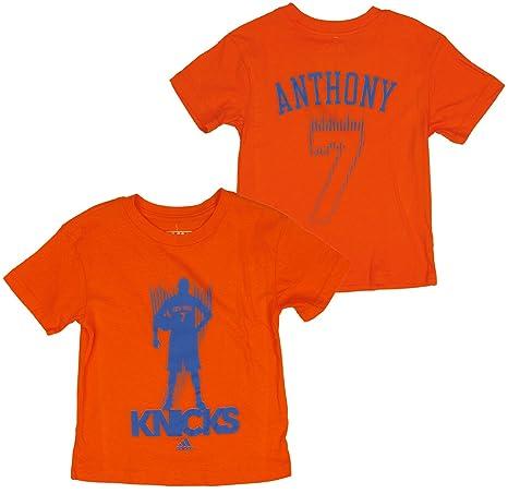 5075a5f1387 New York Knicks NBA Little Boys Kids Blur Carmelo Anthony  7 Alternate T- Shirt