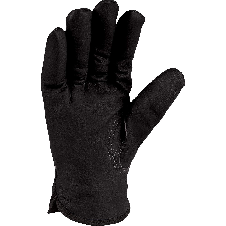 Carhartt Mens Insulated Full-Grain Leather Driver Work Glove