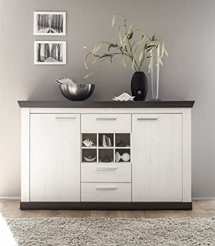 Dreams4Home Sideboard 'Pennie' - Schrank, Kommode, Konsole