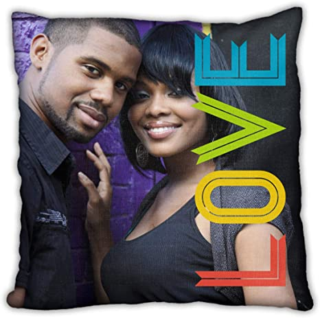 Collage Com Custom Photo Throw Pillows Love Is Beautiful Add Your Own Photo 18x18 Home Kitchen