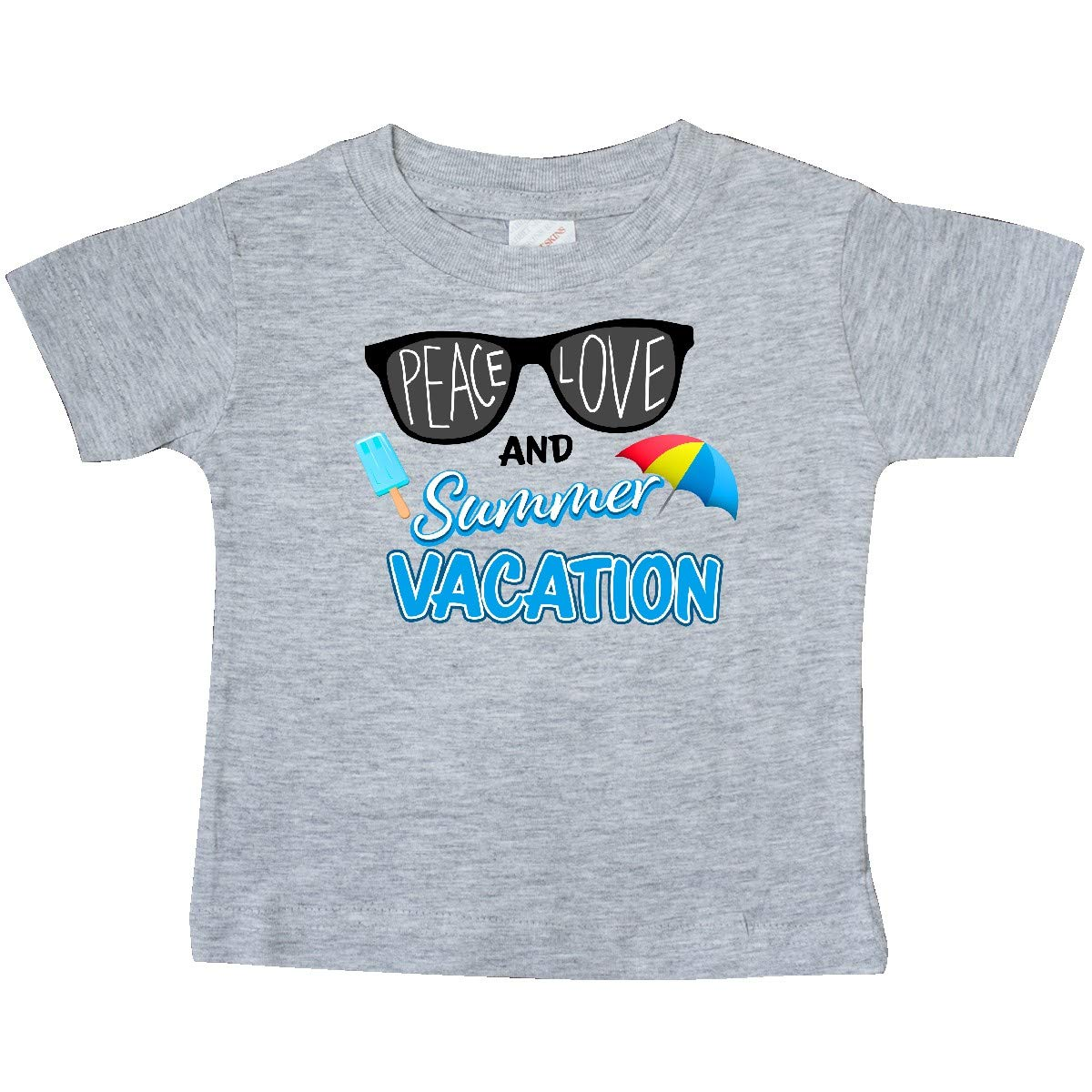 inktastic Sunglasses Peace Love and Summer Vacation Baby T-Shirt