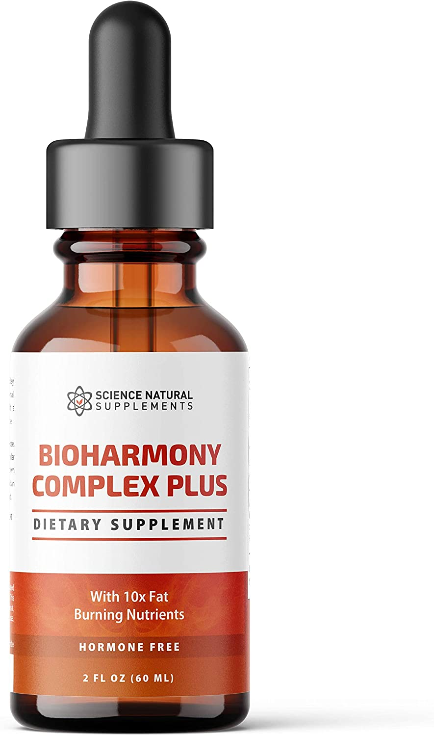 Science Natural Supplements: BioHarmony Advanced - Supplement for Weight Loss - 2 fl oz - Liquid Fat Burner with 10X Fat Burning Natural Plant Extracts - Fat Burners for Adults - Nutritional Drops