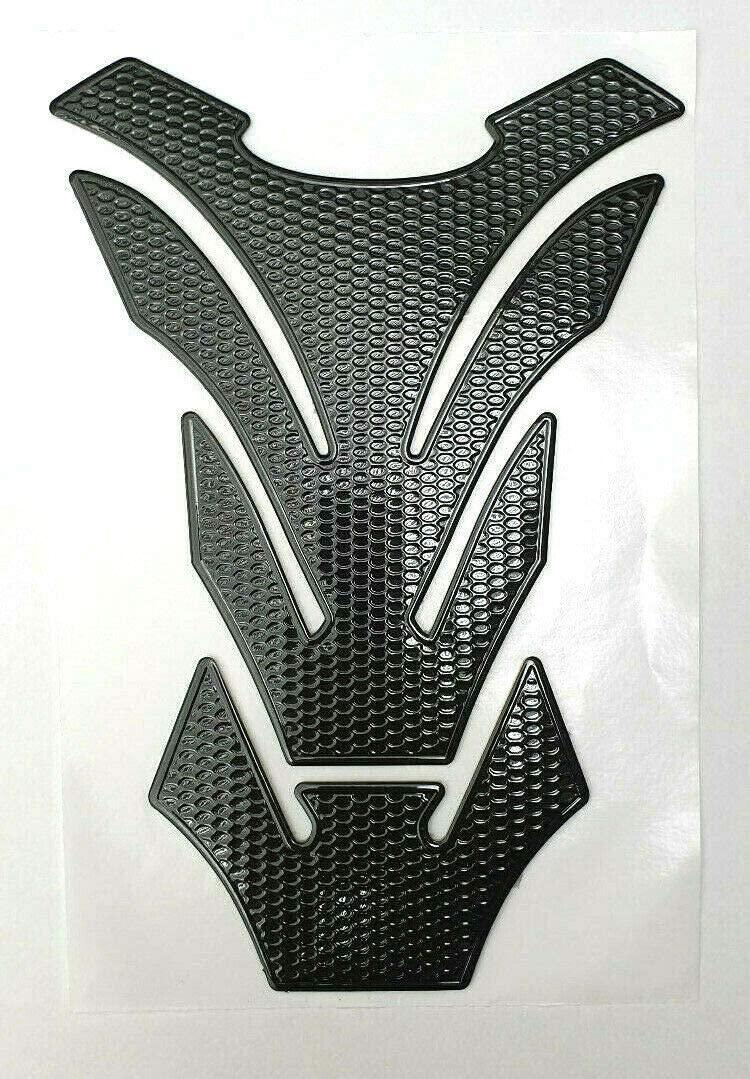 dise/ño de palmera color negro Protector para dep/ósito de motocicleta
