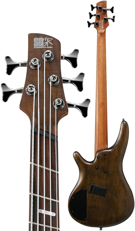 Ibanez Bass Workshop Srff805 Multi Scale Walnut Flat Guitar Wiring Diagram As Well Musical Instruments