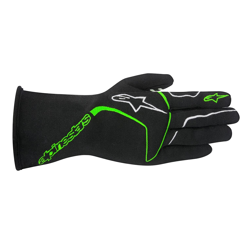 Fluorescent Yellow, Large Alpinestars TECH 1 Race Gloves 3551116-551-L
