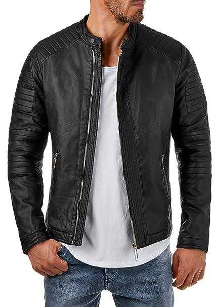 similpelle da a Prestige nero Homme S br22 trapuntato giacca motivo xvvtAZ