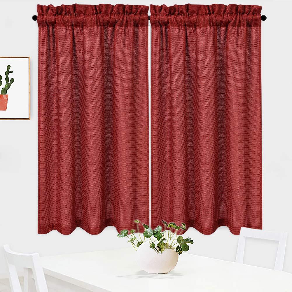 Draperies & Curtains Tiers 30 X 45 NANAN White Curtains 45