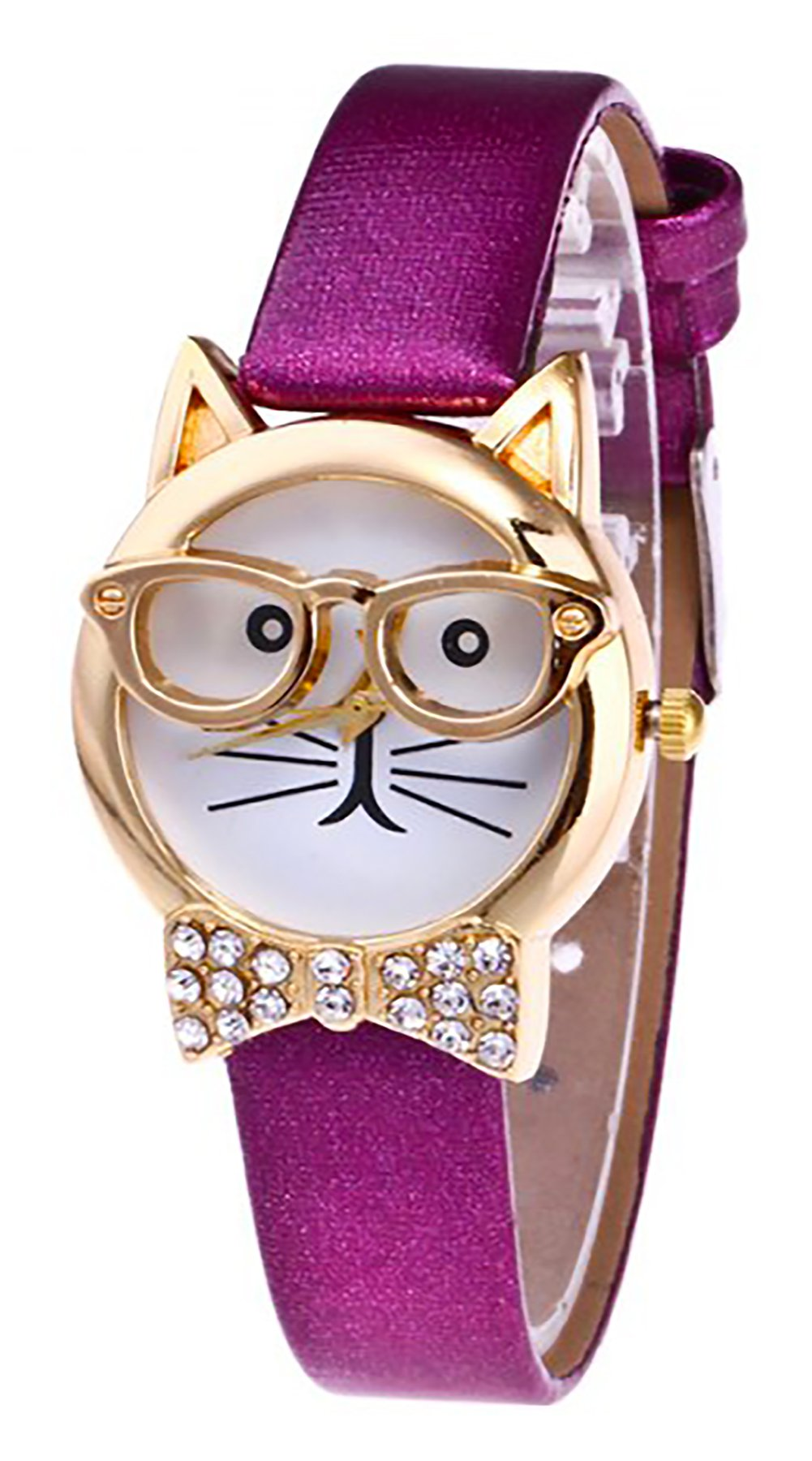 Cat Watch for Girls (Purple)
