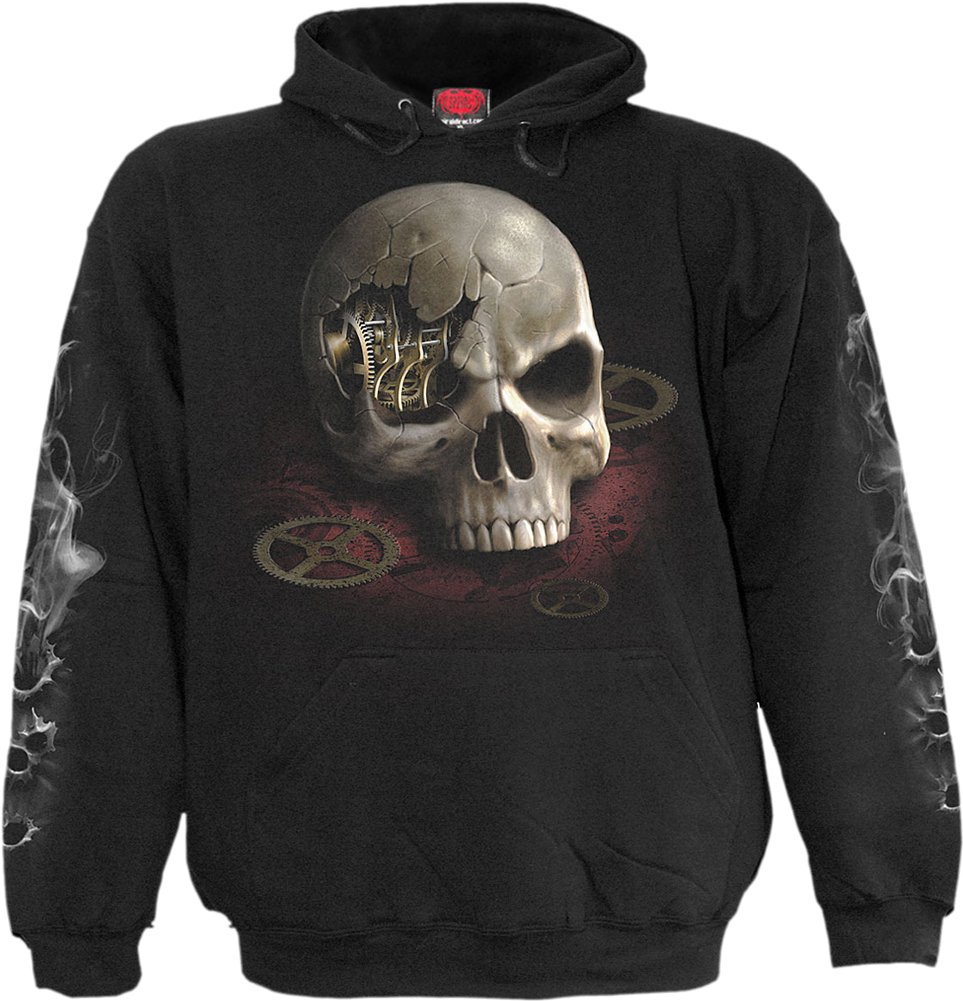 Spiral - Boys - STEAM Punk Bandit - Kids Hoody Black 3