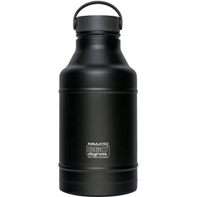 360 DEGREES Growler - Gourde - 1800ml noir 2018 bidon