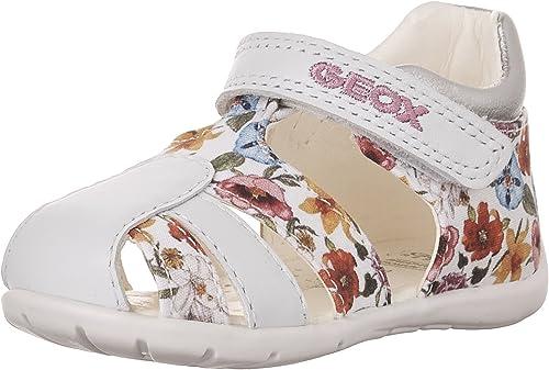 Geox B Kaytan E, Chaussures Bébé Marche Fille: