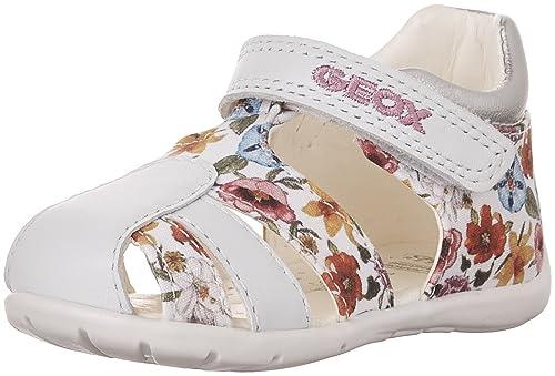 Geox B Kaytan D, Botines de Senderismo para Bebés, Blanco (WHITEC1000), 18 EU: Amazon.es: Zapatos y complementos