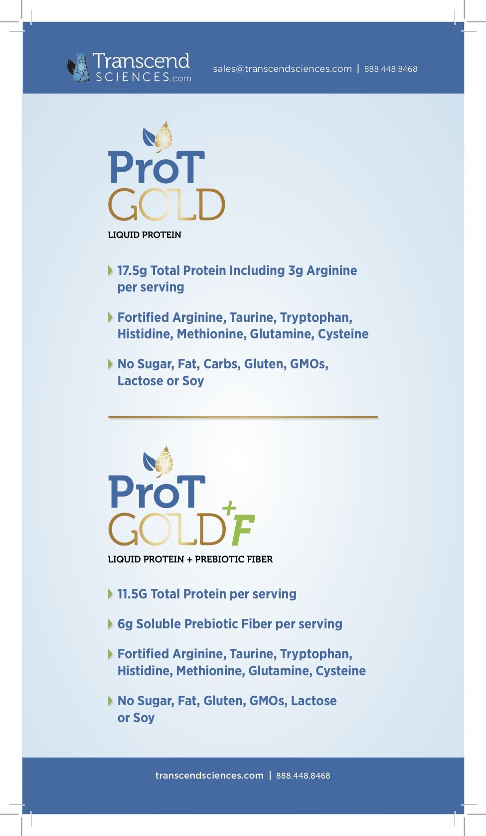 ProT GOLD - Berry Sugar Free Liquid Protein Shot - 30oz Bottle with 30 1oz Servings - Anti Aging Liquid Collagen. A Clinically Proven Nano Hydrolyzed Protein Used in Over 3000 Medical Facilities by ProT Gold (Image #4)