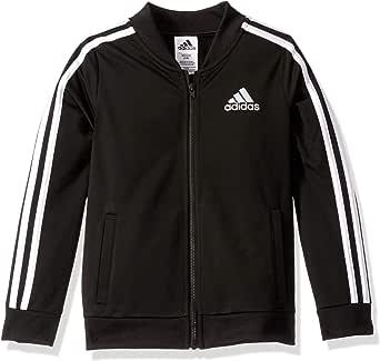 adidas Girls' Big YRR Tricot Bomber Jacket