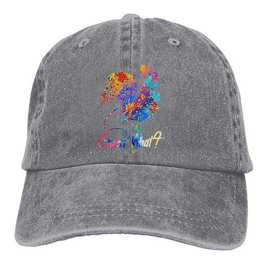 425d75fcac4 Amazon.com  Guess What Denim Hat Adjustable Men Cute Baseball Hat ...