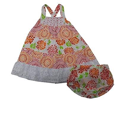 3371c7709e Amazon.com  Penelope Mack Baby Girls Size 18 Months Dress   Bloomers ...
