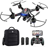 Holy Stone F181W 1080P FPV Drone with HD Camera for Adult Kid Beginner, RC Quadcopter with Carrying Case, Voice Control…