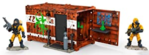 Mega Construx Call Of Duty Hazmat Lab Armory Dom Building Set