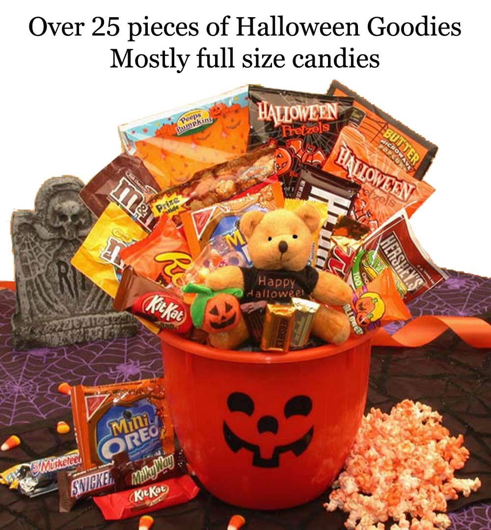 Halloween Tricks and Treats Halloween Candy Gift Basket by GBA