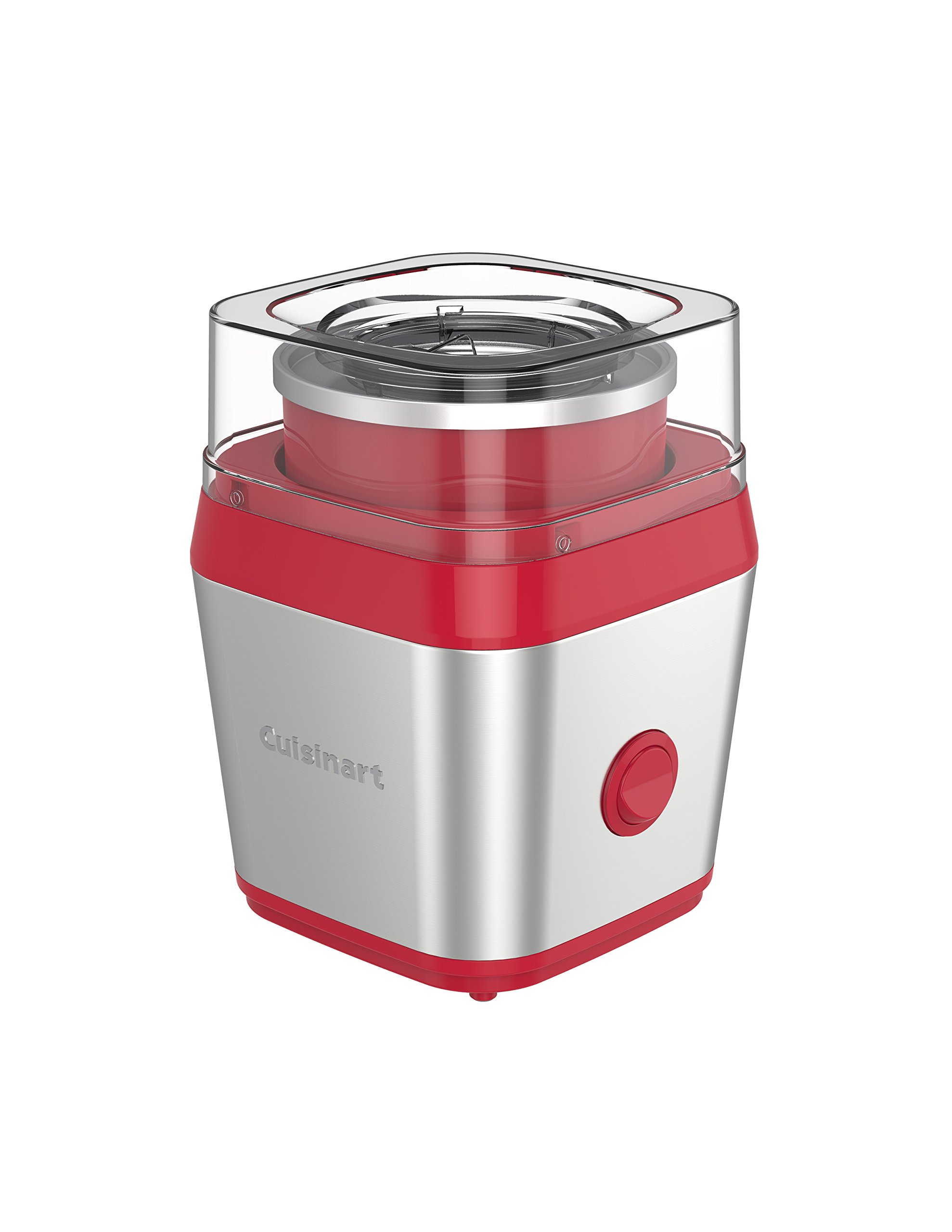 Cuisinart ICE-31BRQVC Fruit Scoop Frozen Dessert & Ice Cream Maker, Berry
