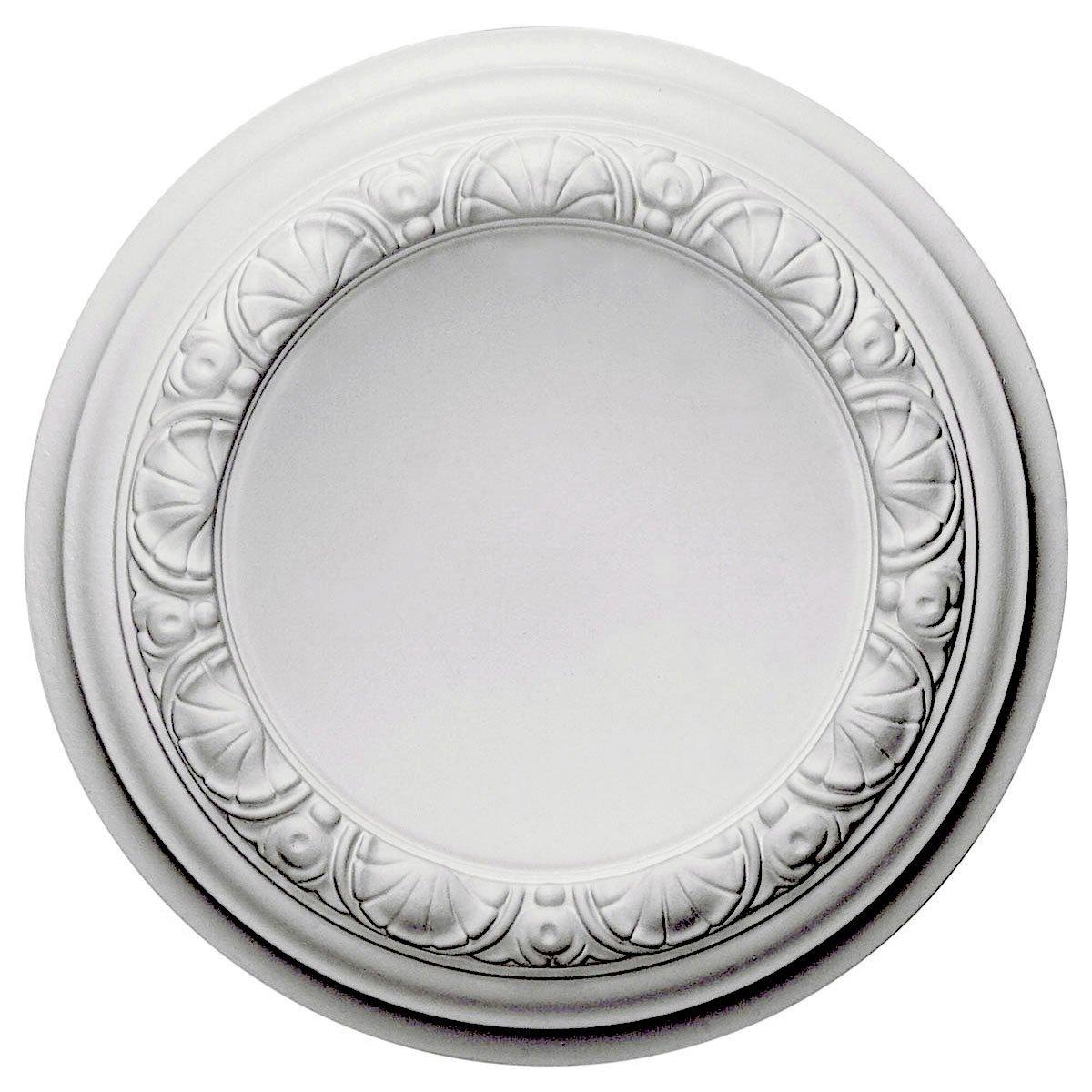 Ekena Millwork CM12CA 12 1/2-Inch OD x 1 1/2-Inch Carlsbad Ceiling Medallion