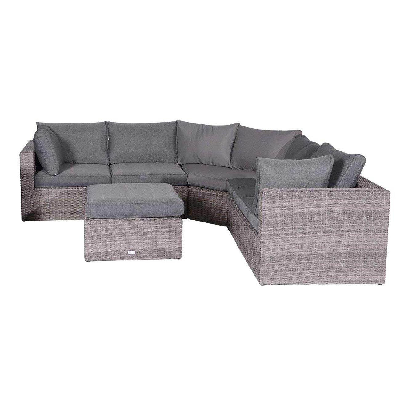 OUTLIV. Madeira XL Lounge 4-tlg Organic Grey / Anthrazit Loungemöbel