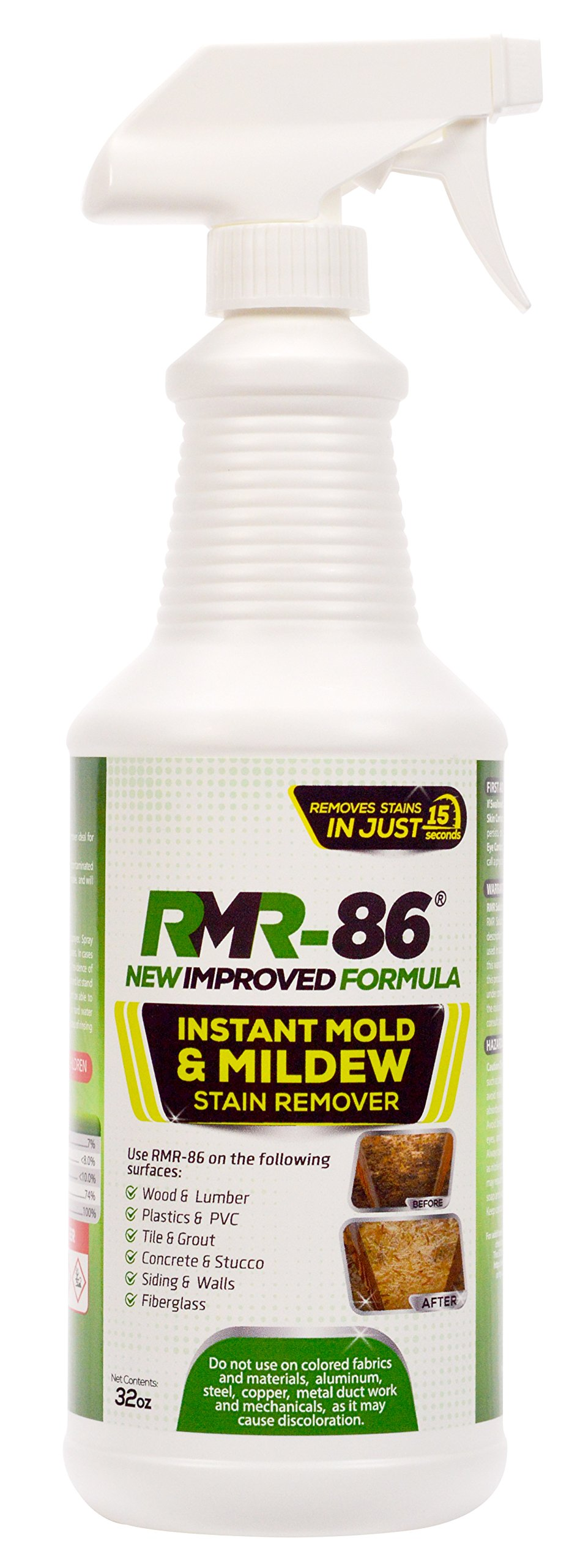 RMR-86 Instant Mold Stain & Mildew Stain Remover - 32 oz w/Sprayer