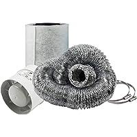 Cultivalley Mini airconditioning set - 105m³ buisventilator & 160m³ actieve koolfilter 100mm Ø - afvoerset voor kleine…
