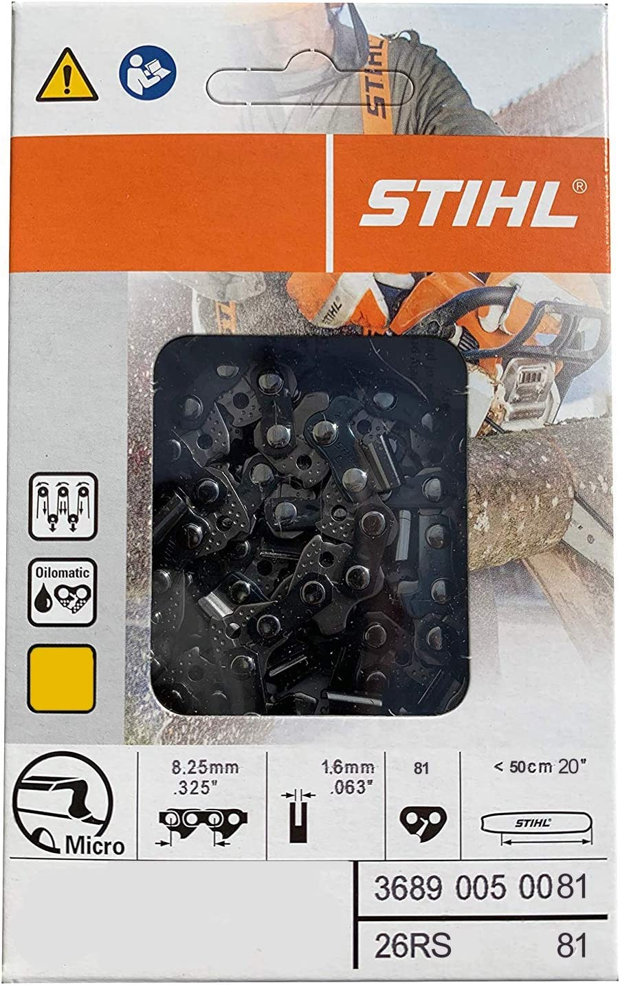 6. Stihl 26RS Chainsaw Chain
