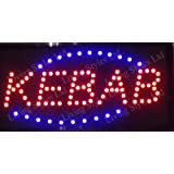 LETRERO CARTEL LUZ LUMINOSO LED - PIZZA KEBAB. IDEAL PARA ...