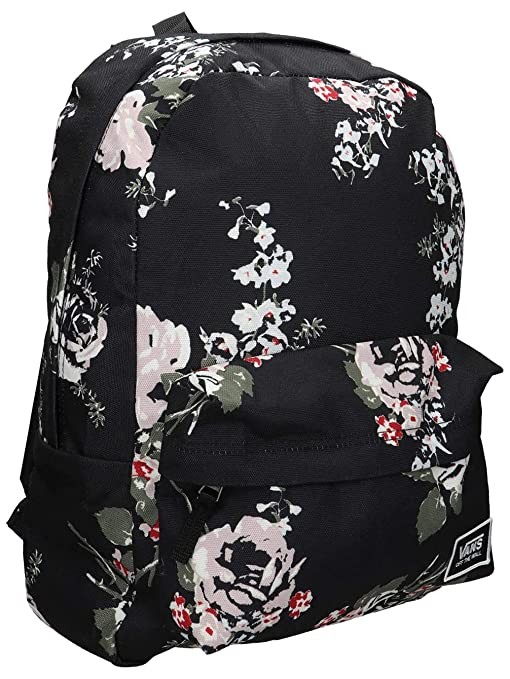 Mochila Vans Realm Classic Backpack Chambray Floral: Amazon ...